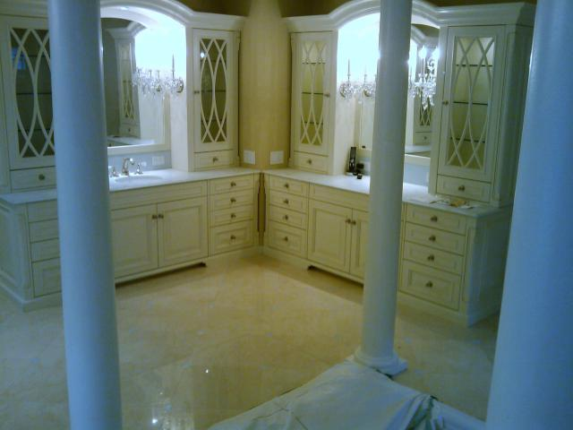 Granite bathroom